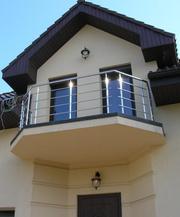 Балконы и балконные ограждения из нержавеющей стали