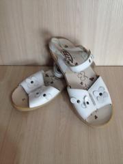 Босоножки сандали кожа 36-37 размер 23, 5 см