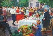 Советская живопись,  соцреализм,  документы на вывоз из Украины