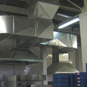 Изделия с оцинковки воздуховоды, купола,  зонты на вытяжку для кухни.