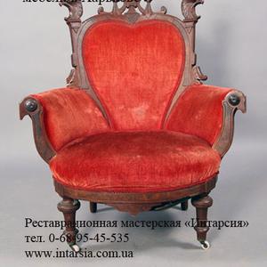 Перетяжка мягкой мебели Харьков