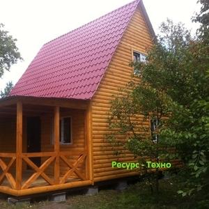 Домики дачные деревянные, бытовки дачные, строительные.