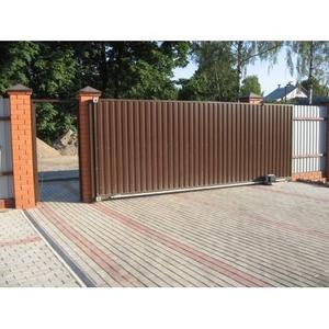 Установка откатных ворот Запорожья.