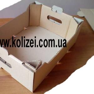 картонный ящик под помидоры