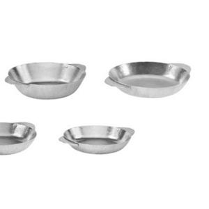 Алюминиевые тарелки разных размеров .