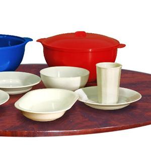Пластмассовая многоразовая,  термостойкая,  ударопрочная посуда.