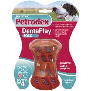 SENTRY Petrodex ДЕНТАПЛЕЙ Соло  игрушка для чистки зубов