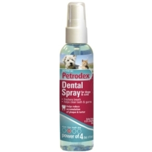 SENTRY Petrodex ДЕНТАЛ СПРЕЙ  спрей от зубного налета для собак,  котов