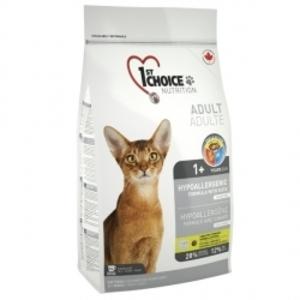 1st Choice гипоаллергенный сухой супер премиум корм для котов