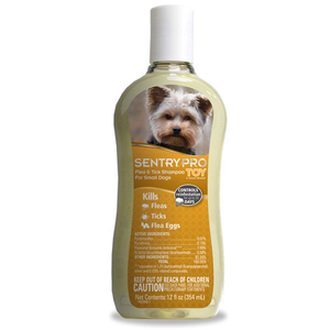 SENTRY PRO ТОЙ шампунь от блох и клещей для собак мини и малых пород