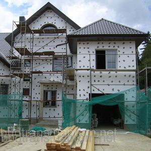 Отделка фасадов,  штукатурка фасада,  ремонт фасада