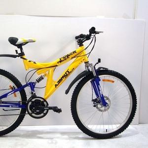 гоный двухподвесный  велосипед