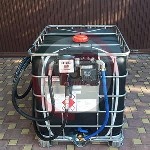 Мини АЗС,  заправка топлива на базе еврокуба
