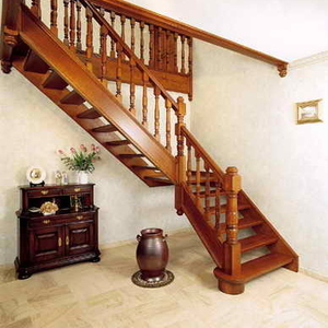 Изготовление и монтаж деревянных междуэтажных лестниц. Киев,  область.