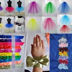 Свадебное: аксессуары для девичника - фата,  юбки,  бантики  и др