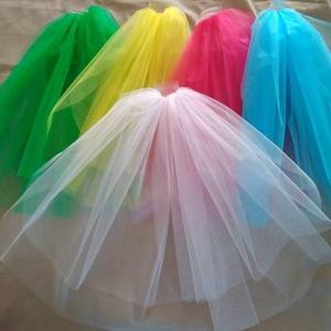 Фата цветная,  для подружек невесты,  для девичника