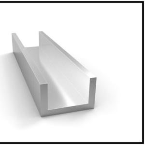 Швеллер алюминиевый АД31Т5 анодированный АН21 алюминиевый профиль