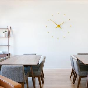 Уникальные часы Nomon Oj Mini Wall Clock,  Mustard