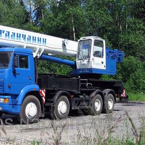 Аренда автокрана 90 тонн