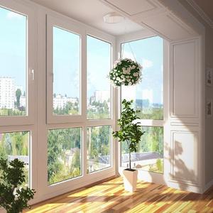 Окна балконы лоджии (вынос,  обшивка,  утепление) в Киеве