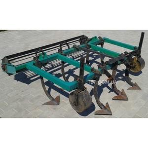 Культиватор сплошной обработки 1, 6 (2.1) м с рабочими лапами и катком