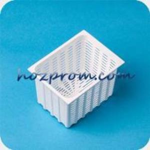 Прямоугольная форма для мягкого сыра 0, 35 кг Купить сырные формы