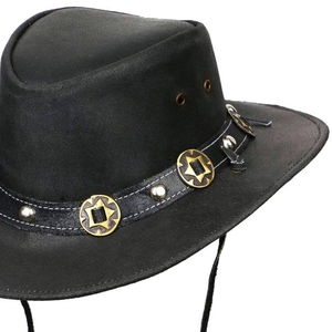 Кожаная шляпа Concho