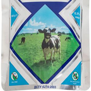 Молоко цельное сгущенное с сахаром жирностью 8,  5% дой пак 0,  500 кг,  экспорт