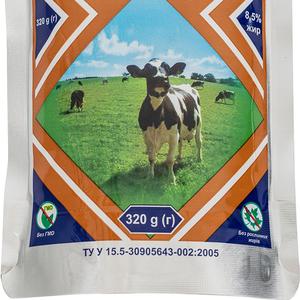 Молоко цельное сгущенное карамелизированное стерилизованное сахаром,  8,  5%,  320 гр,  экспорт