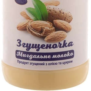 Сгущеночка с маслом и сахаром со вкусом МИНДАЛЯ пэт/бут 370 гр.экспорт
