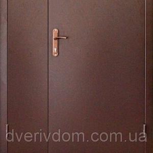 тамбурные двустворчатые металлические входные двери