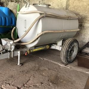 Бочка 3 куба для транспортировки воды прицепная