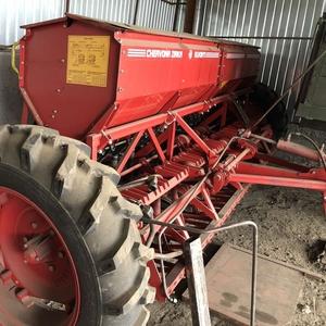 Сеялка зерновая рядовая СЗ-3, 6А ( сіялка зернотукова) практически нова