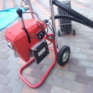 Чистка канализации - Механическая чистка,  тросом