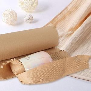 Сотовая крафт-бyмaгa упаковочная PaperPack в рулоне