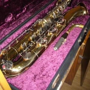 Продам саксофон баритон Amati Classik (жёлтый).