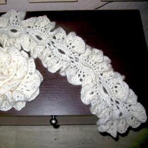 Продам ажурный теплый шарфик