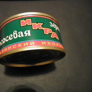 Красная (лососевая)  Икра 120 грамм банка