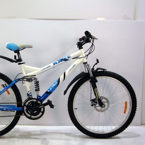 Продам новый горный двухподвесной велосипед Azimut Race +дисковые торм