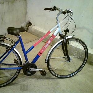 Продам новый женский городской велосипед  (очень удобный)