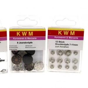 Фурнитурный набор KWM №3 для одежды KWM