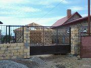 Изготовление ворот,  заборов -профнастил , ковка,  комбинированные.Одесса